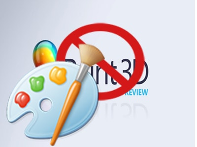 su dung paint classic thay paint 3d