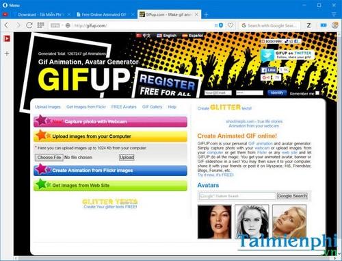 Top 10 trang web tạo ảnh động, ảnh GIF trực tuyến tốt nhất