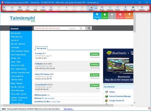 Chụp trang web Firefox, cách chụp hình ảnh trang web trên Firefox