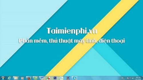 Đổi hình nền máy tính win 7, thay ảnh màn hình destop, laptop Windows 7 5