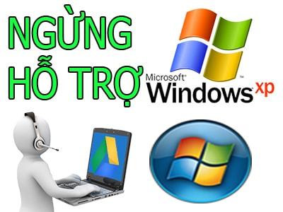 google drive ngung ho tro windows xp va windows vista