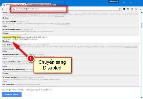 Mẹo sửa lỗi 107 trên Google Chrome