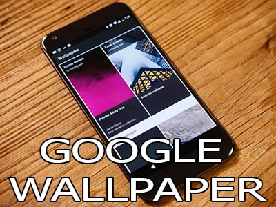su dung google wallpaper