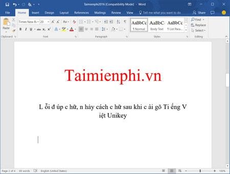 Hướng dẫn sửa lỗi cách chữ trong Word 2016 như thế nào? 0