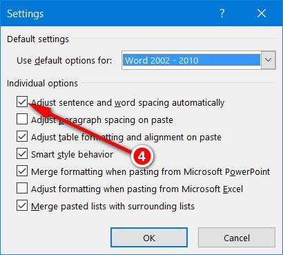 Hướng dẫn sửa lỗi cách chữ trong Word 2016 như thế nào? 8