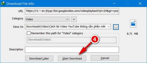 tai video youtube bang idm trentrinh duyet chrome