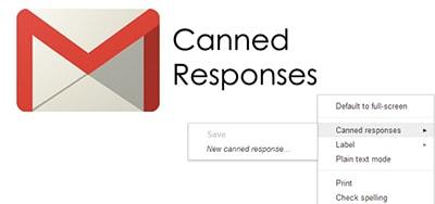 Tạo thư, email mẫu Gmail bằng Canned Responses