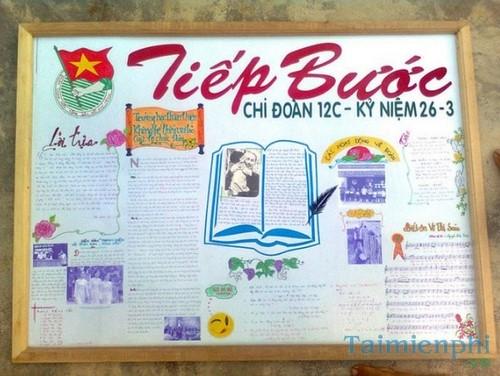 Làm báo tường đẹp chào mừng ngày nhà giáo Việt Nam