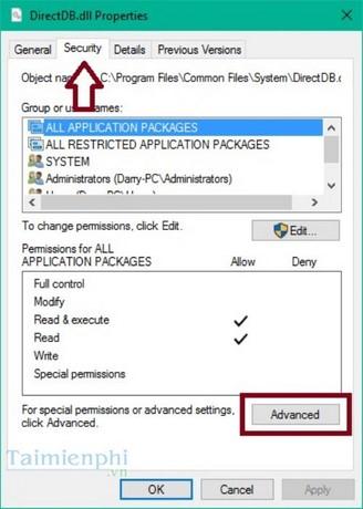 Cách khôi phục quyền TrustedInstaller trên Windows 10