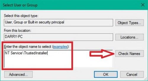 Cách khôi phục quyền TrustedInstaller trên Windows 10 2