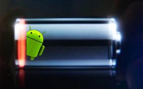 cai am bao pin yeu tren android