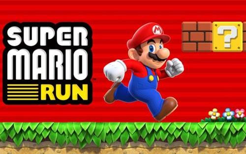 game super mario run tren ios