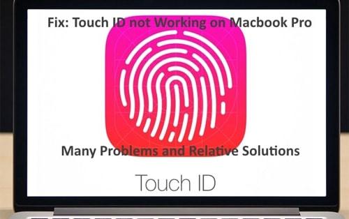 sua loi touch id khong hoat dong tren macbook pro