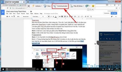 Chat video trong TeamViewer, trò chuyện qua video trên TeamViewer