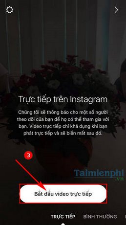 phat video truc tiep tren instagram