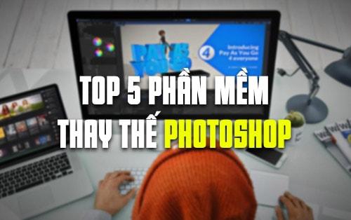 5 phan mem replace the photoshop