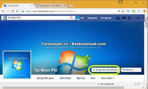 Kết bạn trên Facebook, thêm bạn, add bạn mới
