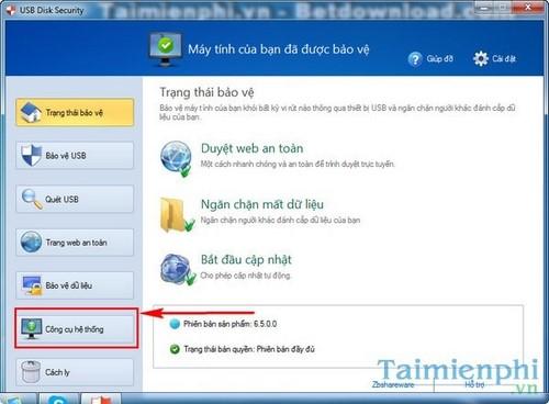 tat phan mem tu khoi dong tren windows voi usb disk security