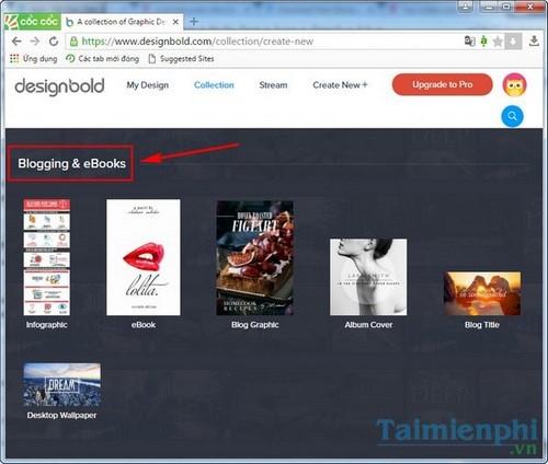 Cách sử dụng DesignBold, website thiết kế banner, card  online