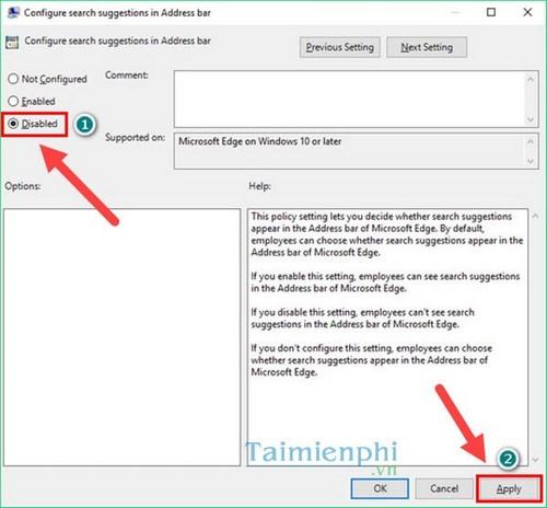 Hướng dẫn Xóa URL tự động gợi ý trên trình duyệt Microsoft Edge