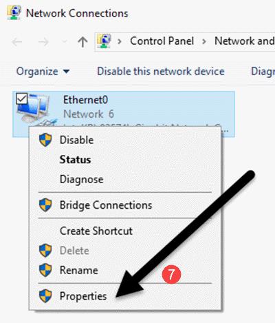 Error with ip on computer