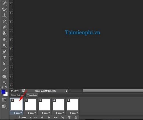 Tạo ảnh động trên Photoshop CS6, làm ảnh GIF trong CS6