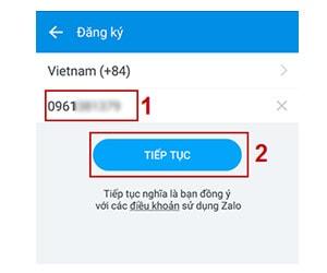 Cách đăng ký zalo, tạo tài khoản Zalo chat trên điện thoại và máy tính 5