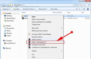 Cách nén và giải nén file bằng WinRAR trên máy tính 17