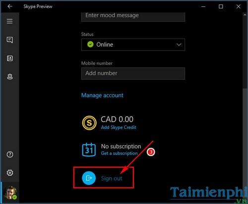 Cách dừng Skype từ ứng dụng chạy nền trên Windows 10 2
