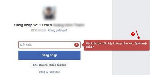 tim lai mat khau facebook