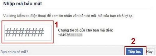Cách lấy lại mật khẩu Facebook bị mất, quên bằng số điện thoại, gmail 12
