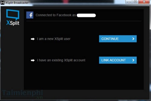 Phát video trực tiếp trên Facebook bằng XSplit