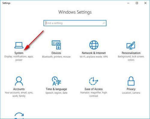 Bật tắt sleep trong Win 10, chế độ nghỉ trên Windows 10 5