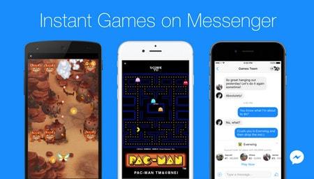 Trải nghiệm tính năng Instant Games trên Facebook Messenger