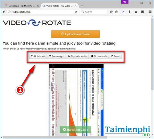 video rotation is online