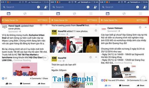 Hướng dẫn tiết kiệm dữ liệu 3G khi lướt Facebook