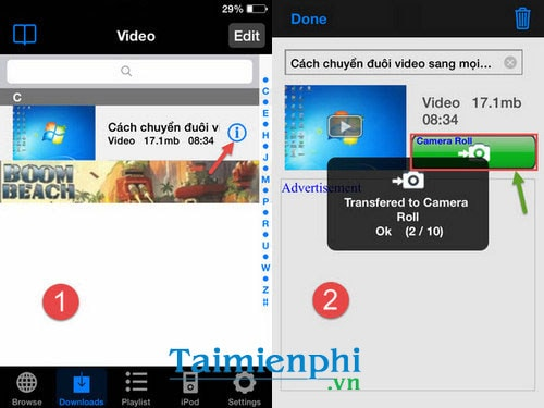 tai video youtube ve dien thoai android