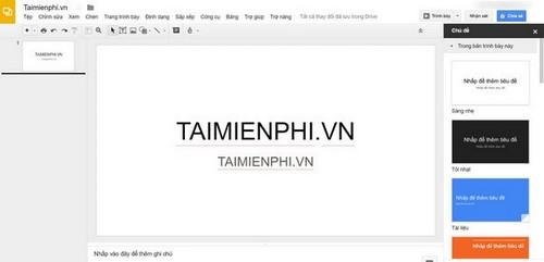 trang web tao slide thay powerpoint online tot nhat