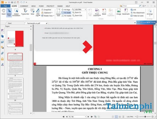 cach ghep noi file pdf online