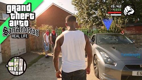 Mã GTA San Andreas, lệnh cướp đường phố game GTA San Andreas 0