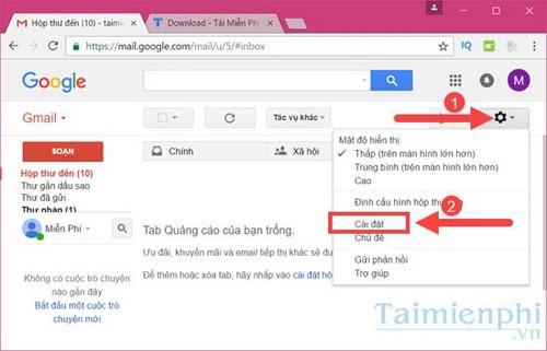 Kích hoạt phím tắt Gmail, bật chế độ phím tắt trong Gmail