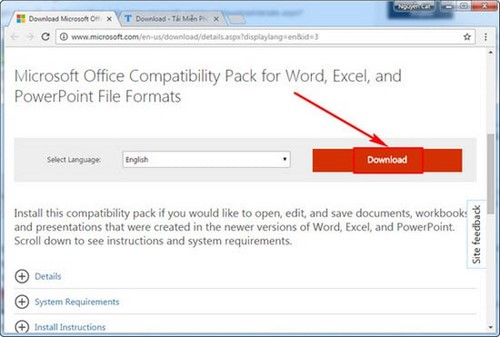 Office 2003 Xlsx Compatibility Pack