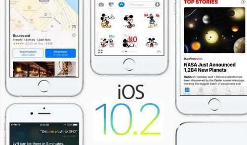 Nâng cấp iOS 10.2, cách cập nhật iOS 10.2 cho iPhone, iPad