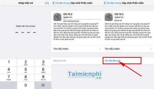 Nâng cấp iOS 10.2, cách cập nhật iOS 10.2 cho iPhone, iPad 3