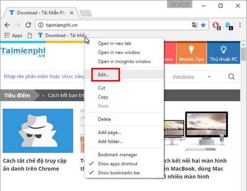 Khởi động lại chrome bằng click duy nhất, nhanh chóng 3