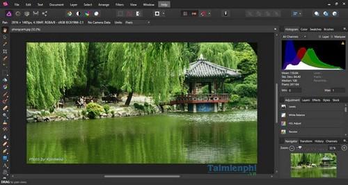 Cách cài đặt Affinity Photo, chỉnh sửa ảnh trên máy tính