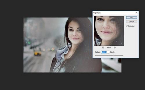 Cách làm nét ảnh bằng Photoshop