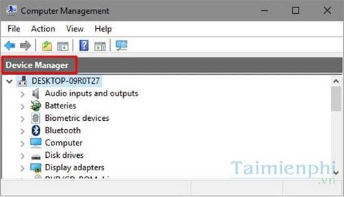 Tùy chỉnh chế độ xem Device Manager trên Windows 10 6