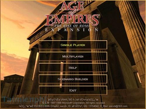 Cài game Đế Chế trên máy tính, laptop 4