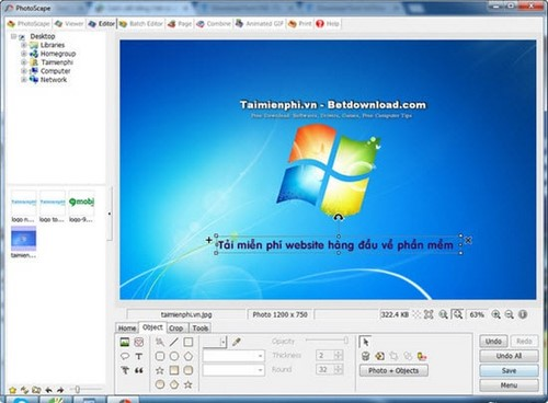 Call Vietnamese on photto scape
